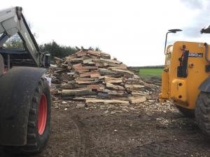 seasoned log supplier leeds